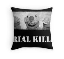 Serial Killer Throw Pillow