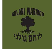 Israel Defense Forces - Golani Warrior by crouchingpixel
