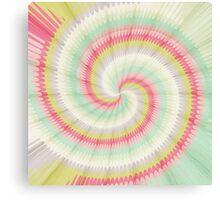 Hypnotizing spiral Canvas Print