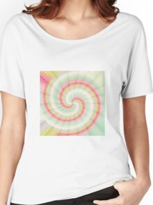 Hypnotizing spiral Women's Relaxed Fit T-Shirt