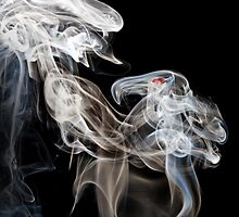 Dragons in smoke by adamshortall