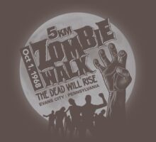 Zombie Walk - Grey T-Shirt