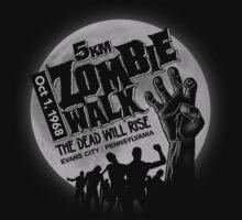 Zombie Walk - Grey Kids Clothes