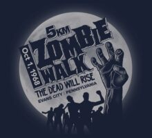 Zombie Walk - Grey Kids Tee