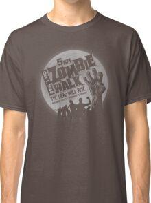 Zombie Walk - Grey Classic T-Shirt