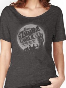 Zombie Walk - Grey Women's Relaxed Fit T-Shirt