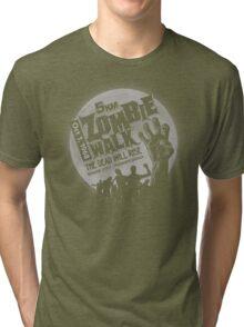 Zombie Walk - Grey Tri-blend T-Shirt