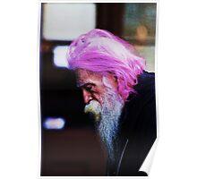 Purple Wisdom Poster