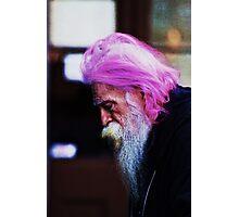 Purple Wisdom Photographic Print