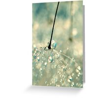Fairy Blue Greeting Card