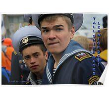 Russian eyes in Shetland Poster