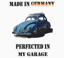 Made in Germany perfected in My Garage bug One Piece - Short Sleeve