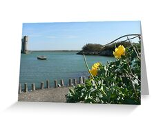 i'd  drown a beast in this sea's water:) Greeting Card