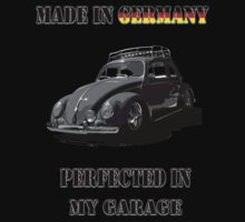 Made in Germany perfected in My Garage bug B&W Kids Clothes