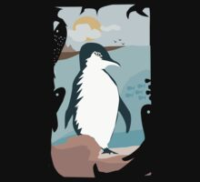 Penguin Vacation Baby Tee