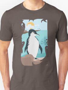 Penguin Vacation Unisex T-Shirt