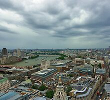 London panorama by wildrain