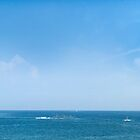 Panorama of Costinesti resort, Black Sea, Romania by wildrain