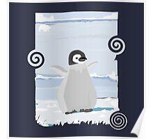 Penguin Kid Poster