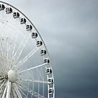 Big Wheel - Albert Dock, Liverpool, England - 'Liverpool Eye' by Sarah Louise English
