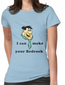 Fred Flintstone Womens Fitted T-Shirt