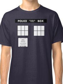 Tardis Door (Version 2) Classic T-Shirt