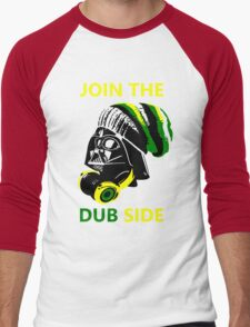 Dub Vader (green-yellow) Men's Baseball ¾ T-Shirt