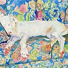 Zoe the Great Dane Pup #2 by Yvonne Carter