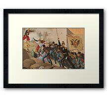 Siege of Vienna Framed Print