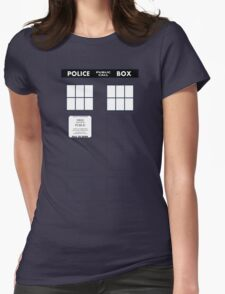 Tardis Door (Version 1) T-Shirt