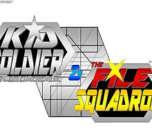 Kid Soldier & The Military troop cats & The File Squadron logo by TakeshiUSA