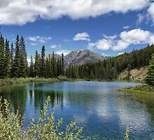 Mount Lorette Ponds 2 by Teresa Zieba