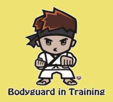 Martial Arts/Karate Boy - Bodyguard Kids Tee