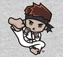 Martial Arts/Karate Boy - Jumpkick One Piece - Short Sleeve