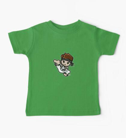 Martial Arts/Karate Boy - Jumpkick Baby Tee