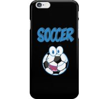 soccer game design t-shirt iPhone Case/Skin