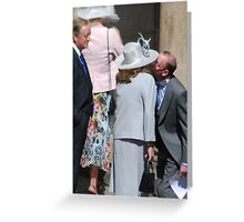 Wedding pecks Greeting Card
