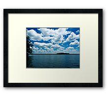Summer Clouds  Framed Print