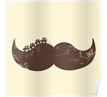 mustache ride  Poster