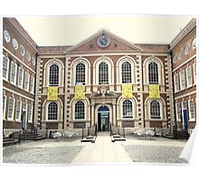 Bluecoat Chambers, Liverpool, Merseyside Poster
