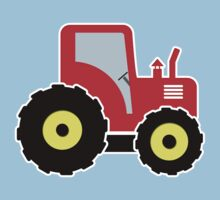 Red toy tractor Kids Tee