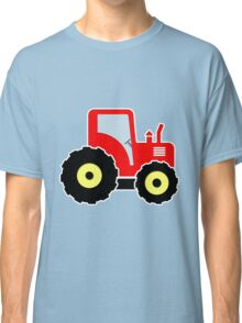 Red toy tractor Classic T-Shirt