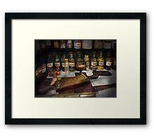 Pharmacy - The dispensary  Framed Print