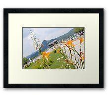 Seoul Flowers II Framed Print