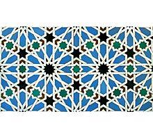 Moorish mosaic Photographic Print