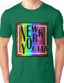 New York typography Unisex T-Shirt