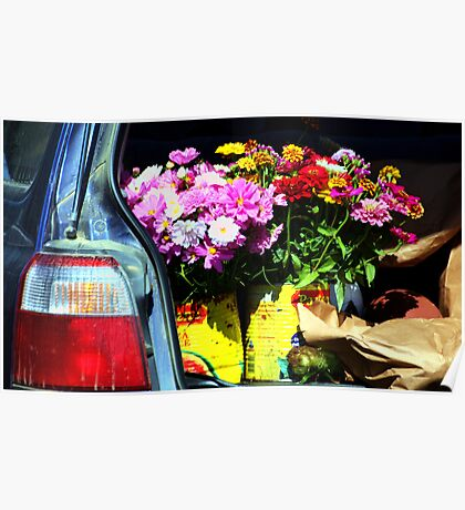Tailgate Bouquet Poster
