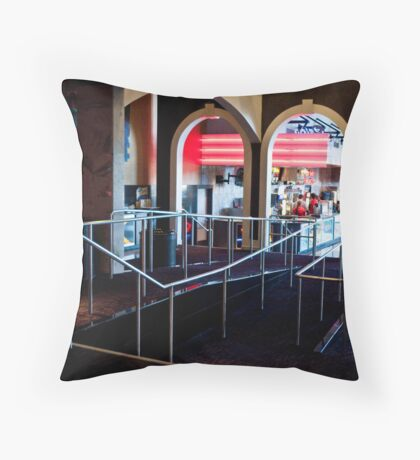Theater Walkways Throw Pillow