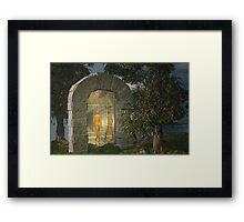 The Tunnel. . . traveler series No. 7 Framed Print