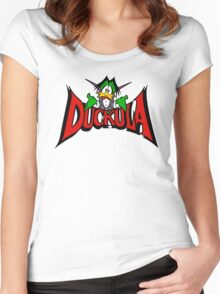 DUCKULA Women's Fitted Scoop T-Shirt